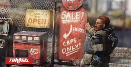 Sigue vivo: Fallout 76 permitirá crear tiendas como su nueva mecánica de juego