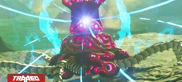 Nintendo tiene un 'Guardián' de Breath of the Wild protegiendo sus oficinas