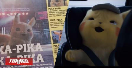 """Diario francés tiene solamente """"pika pika"""" en su portada por Detective Pikachu"""