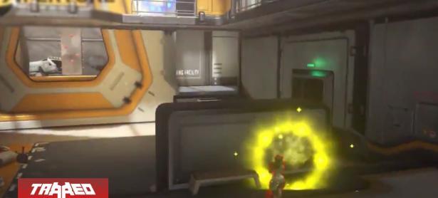 Recrean pistola de Portal 2 totalmente funcional dentro de Overwatch