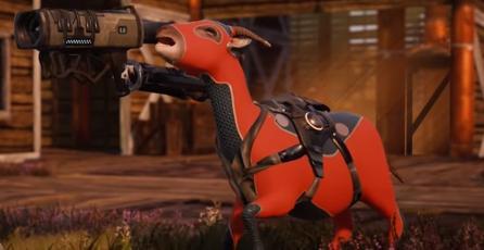 Conoce <em>Goat of Duty</em>, un FPS en el que tu objetivo es matar cabras
