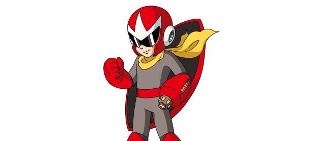 Así se vería Proto Man de <em>Mega Man</em> en el mundo de <em>God of War</em>