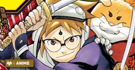 Creador de Naruto llega hoy con Hachimaruden, su nuevo manga original de Samurais