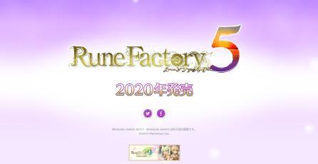 <em>Rune Factory 5</em> no será lanzado antes de 2020