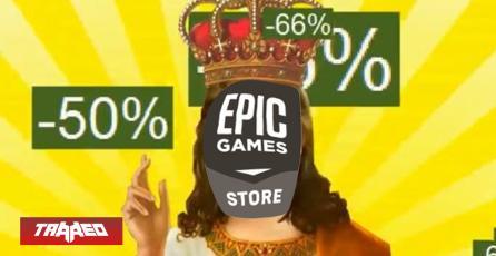 Epic Games Store anuncia su primeras rebajas AAA para competir con Steam