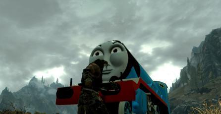 Creador de mod de Thomas, La Locomotora para <em>Skyrim</em> tuvo problemas legales
