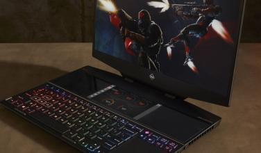 HP presenta la primera laptop para gaming con doble pantalla