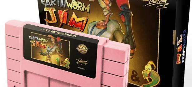 <em>Earthworm Jim</em> prepara su regreso a SNES con una edición muy limitada