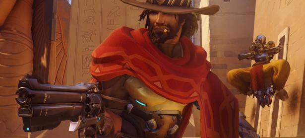 Mira esta fabulosa figura del héroe McCree de <em>Overwatch</em>