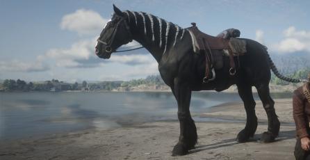 <em> Red Dead Online</em> se está llenando de caballos muertos calcinados