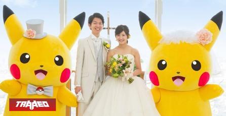 Japón realizó la primera boda temática de Pokémon con Pikachus de testigo