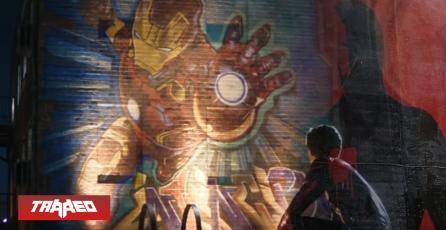 Murales de Iron Man saltan a las calles de Inglaterra en tributo a Tony Stark