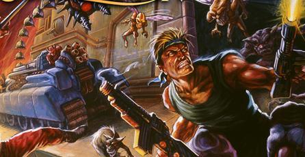 Conoce los 10 juegos que incluirá <em>Contra: Anniversary Collection</em>