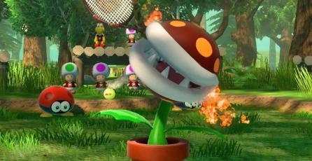 Fire Piranha Plant se une a la competencia en <em>Mario Tennis Aces</em>