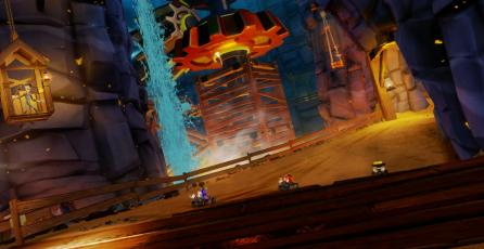 Dragon Mines luce increíble en <em>Crash Team Racing Nitro-Fueled</em>