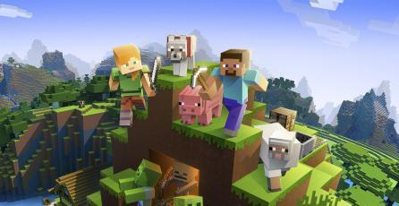 Revelan primer video de gameplay de <em>Minecraft Earth</em>