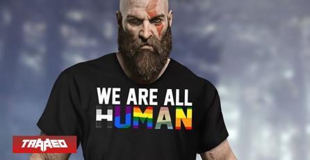 Creador de GOW causa polémica por anunciar bisexualidad de Kratos por el mes del Orgullo
