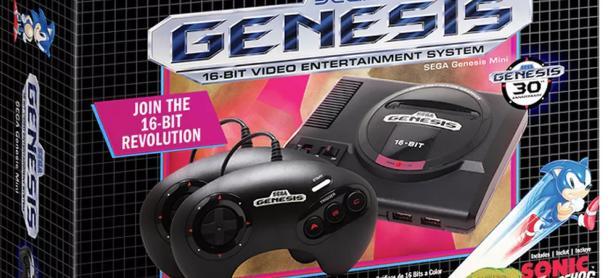El SEGA Genesis Mini incluirá <em>Tetris</em> y <em>Darius</em>