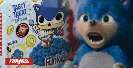 Sonic the Hedgehog estrenará colorido y químico cereal temático
