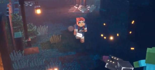 Microsoft presenta el título de acción y aventura <em>Minecraft: Dungeons</em>