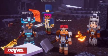 Minecraft Dungeons llegará en otoño del 2020
