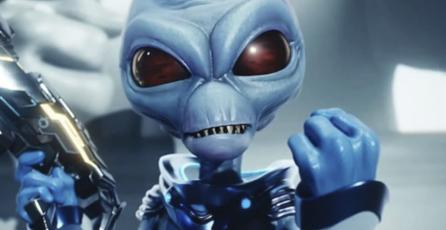 Muestran primer gameplay del remake de<em> Destroy All Humans!</em>