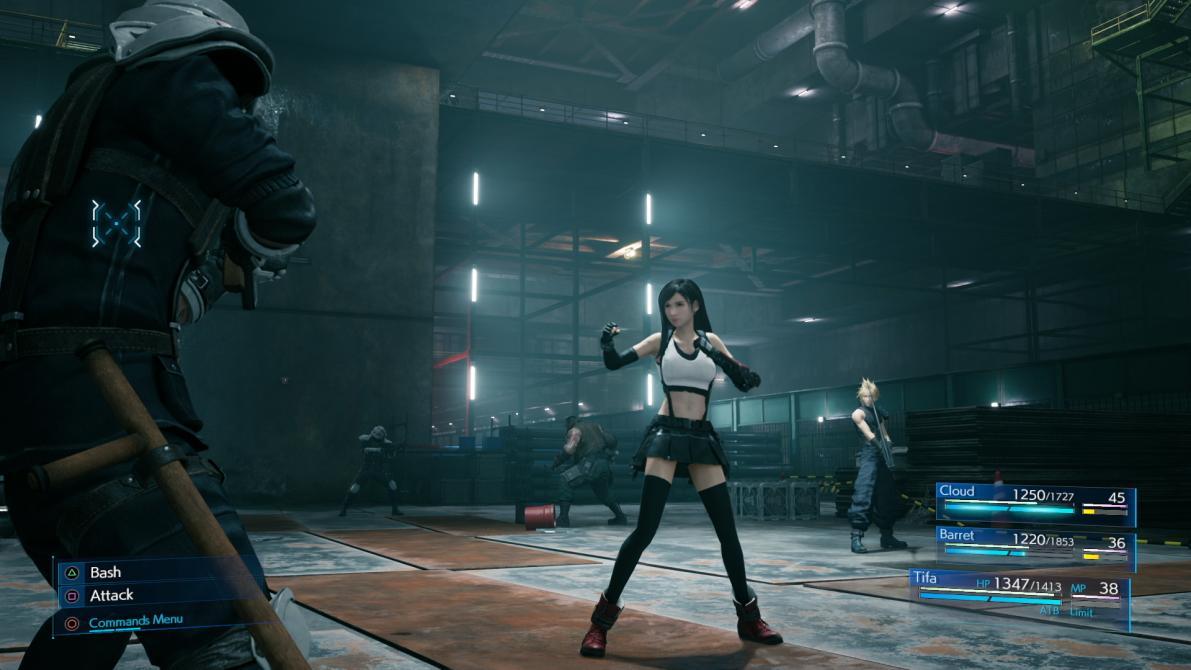 Aquí están las nuevas capturas de <em>Final Fantasy VII Remake</em>