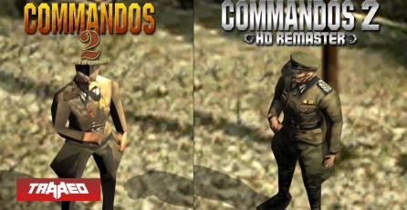 Commandos 2 se exhibe en su HD Remastered revelando estreno para 2019