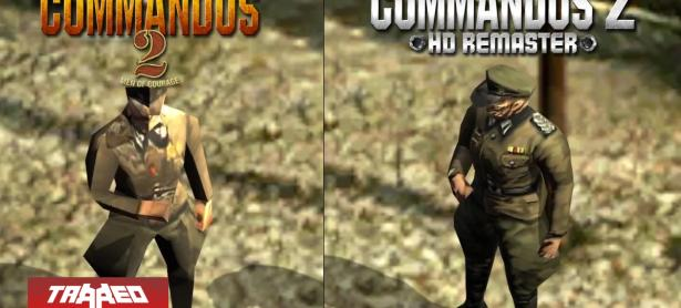 Commandos 2 se exhibe en su HD Remastered revelando estreno para 2019