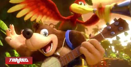 BOMBAZO: Banjo-Kazooie llegará definitivamente a Smash Bros. Ultimate