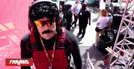 Dr Disrespect es baneado de Twitch y el E3 tras emitir desde baños públicos del evento