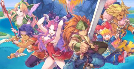 Mira el primer gameplay extendido del remake <em>Trials of Mana</em> y <em>Collection of Mana</em>