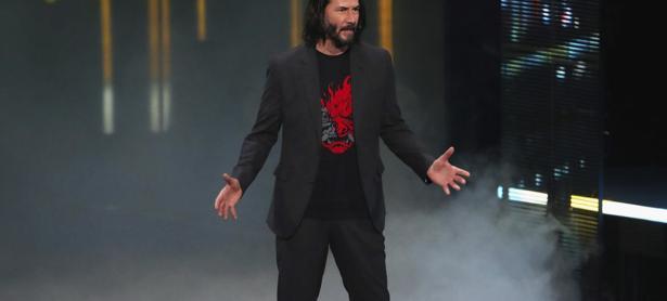 Keanu Reeves es la segunda persona que más habla en<em> Cyberpunk 2077</em>