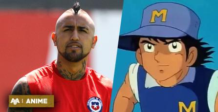 Arturo Vidal señaló su personaje favorito de los Super campeones