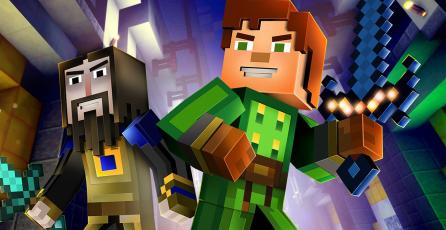 Cada episodio de <em>Minecraft: Story Mode</em> se vende en $100 USD