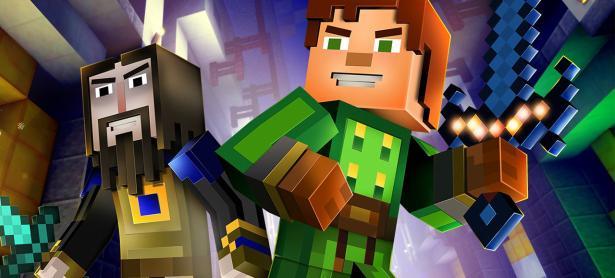 Cada episodio de <em>Minecraft: Story Mode</em> se vende en $100 USD