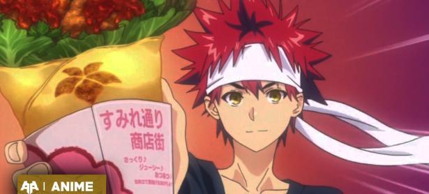 Shokugeki no Soma también llegará con su cuarta temporada en Octubre