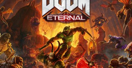 Las batallas de <em>DOOM Eternal</em> te llevarán al infierno y al cielo