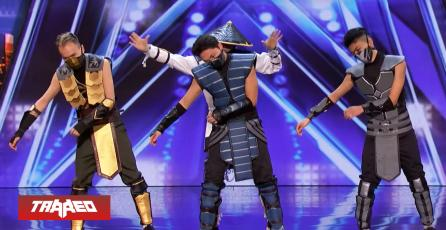 Fanáticos sorprenden con rutina de Mortal Kombat en America's Got Talent