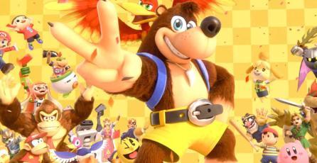 Conoce la reacción de los creadores de <em>Banjo-Kazooie</em> al verlos en <em>Smash Bros.</em>