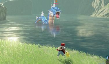 Así se vería un juego de <em>Pokémon </em>estilo de <em>Zelda: Breath of the Wild</em>