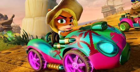 <em>Crash Team Racing Nitro-Fueled</em> triunfa en Reino Unido