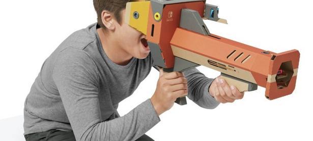 Nintendo Labo VR añade 2 minijuegos gratis