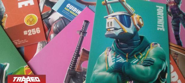 Fortnite llega a Chile en forma de cartas coleccionables