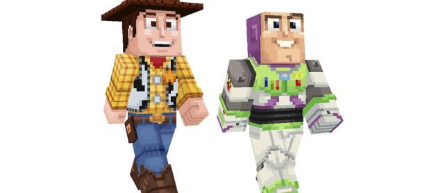 Mucho contenido de <em>Toy Story</em> llega a <em>Minecraft</em>