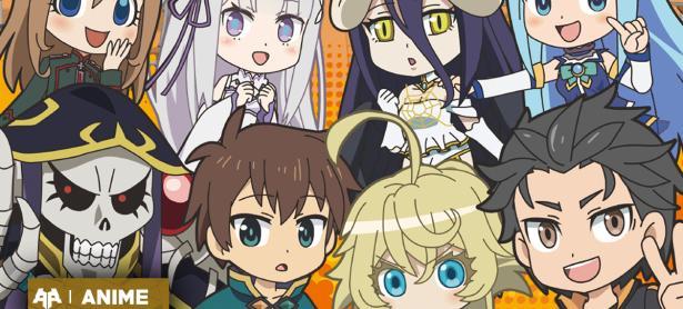 Isekai Quartet confirmó oficialmente una segunda temporada