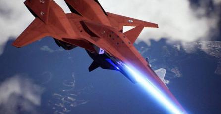 Domina el cielo con el ADF-01 FALKEN para <em>Ace Combat 7</em>