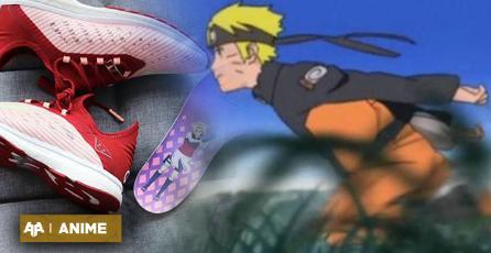 Corre como él: anuncian estreno de zapatillas oficiales de Naruto