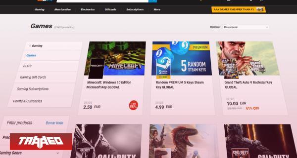 Estudios llaman a piratear juegos antes que comprar en página de claves