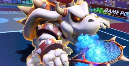 Dry Bowser se une a los duelos de <em>Mario Tennis Aces</em>